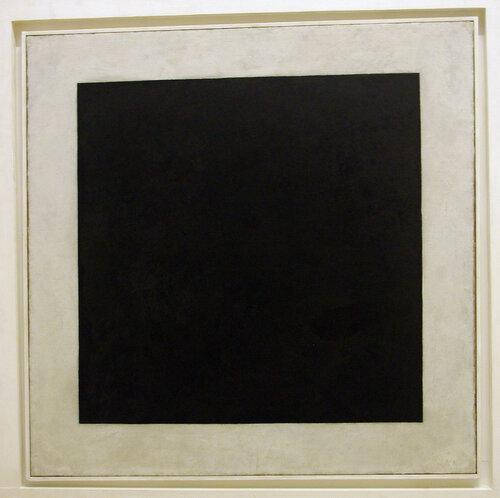 1923. Малевич Казимир Северинович. Черный квадрат