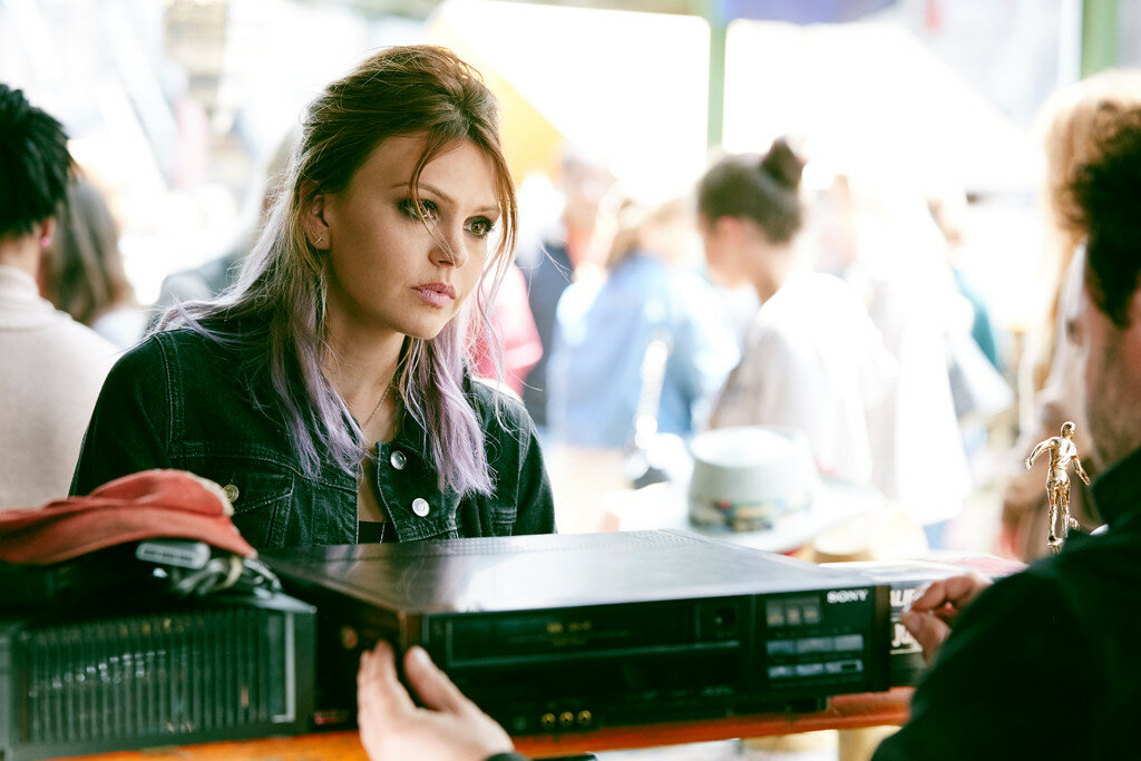 Aimee Teegarden as Skye in the film RINGS by Paramount Pictures