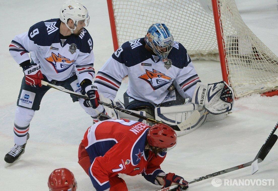 9Плей-офф 2016 Финал ЦСКА - Металлург 19.04.2016
