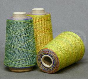 Natural Fantasy PASHIMINA SILK.15  97859 желтый+оранжевый+зеленый+ультрамарин