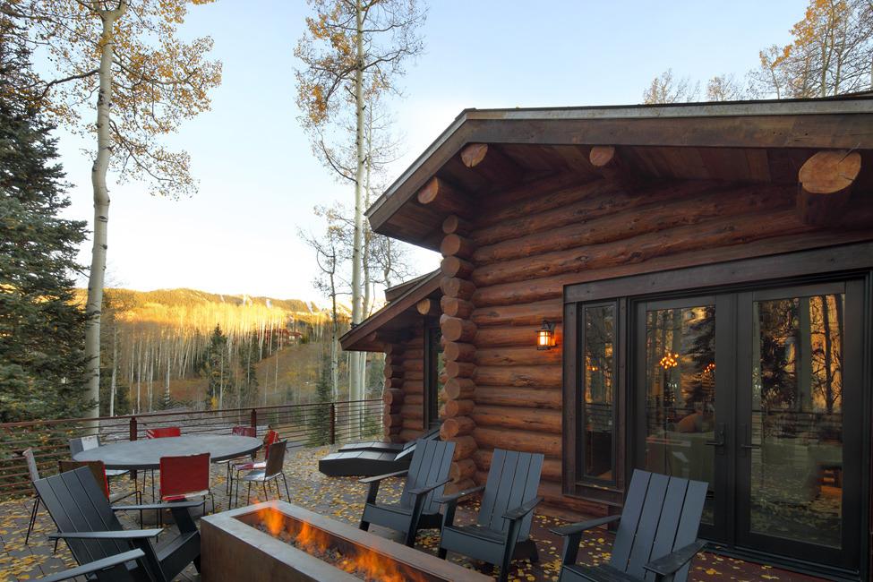 Резиденция в деревенском стиле в горах Колорадо