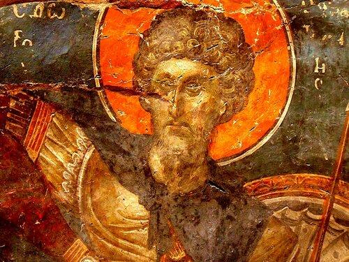 Святой Великомученик Феодор Стратилат.