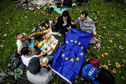 Победа Brexit вызвала колоссальный отток капитала из Европы