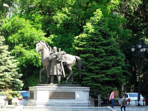 Памятник Атаману Войска Донского Платову М.И...