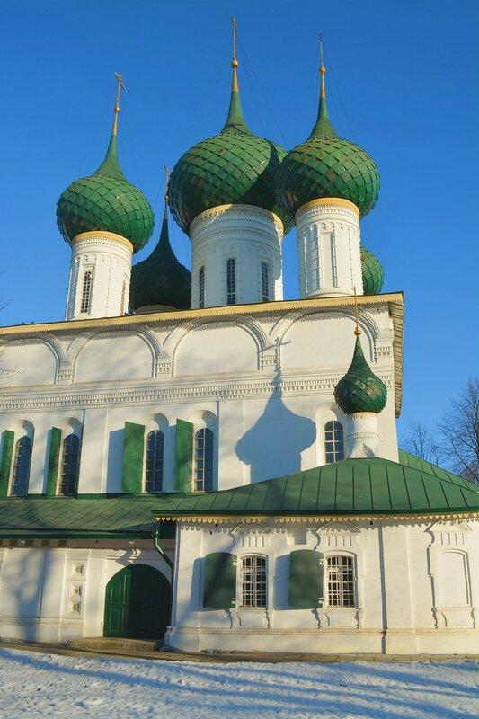 Фёдоровская церковь и С. Прокудин-Горский ... Ярославль, Россия