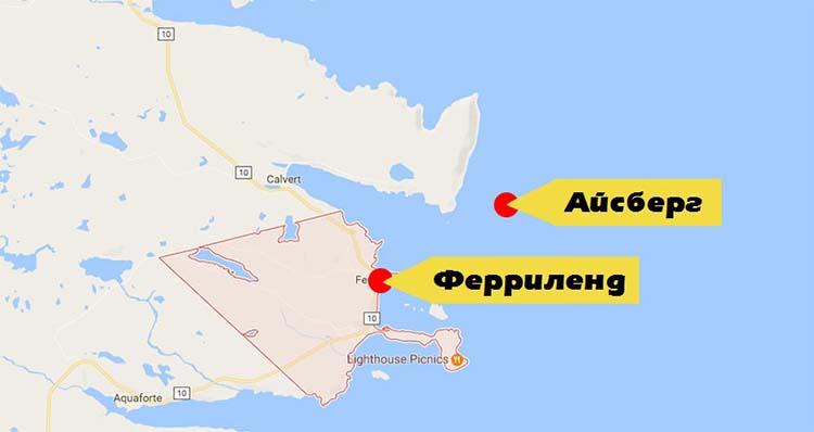 Гигантский айсберг вКанаде стал туристическим хитом