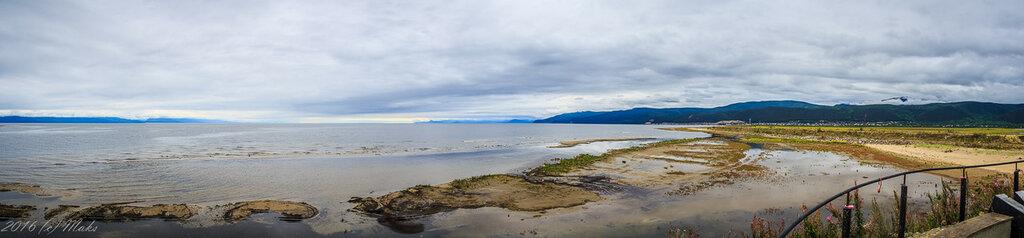 Панорама Байкала у Нижнеангарска