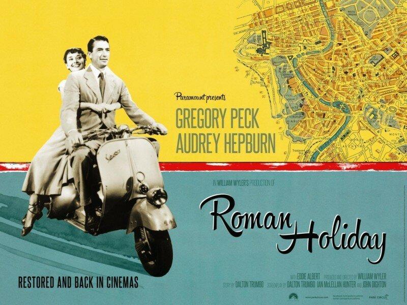 История создания фильма «Римские каникулы» (Roman Holiday)