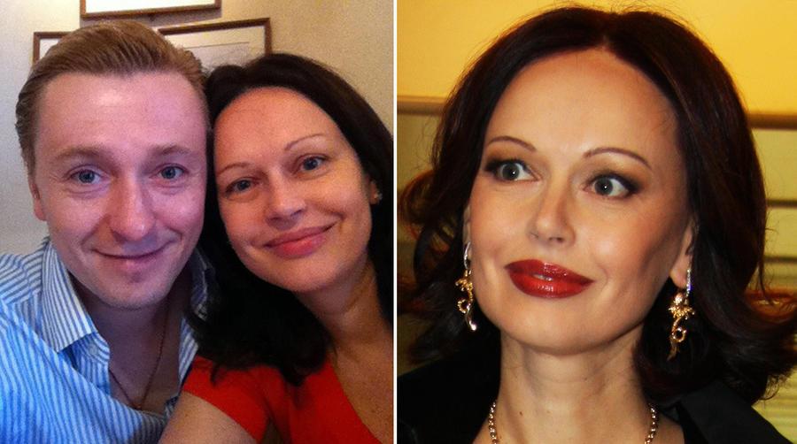10. Ирина Безрукова В Твиттере можно увидеть фотографию Ирины вместе с мужем, на которой она совсем