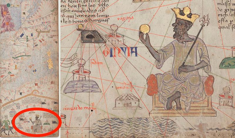 Что осталось  После двадцатипятилетнего правления Манса Муса умер в 1337 году. Место на трон