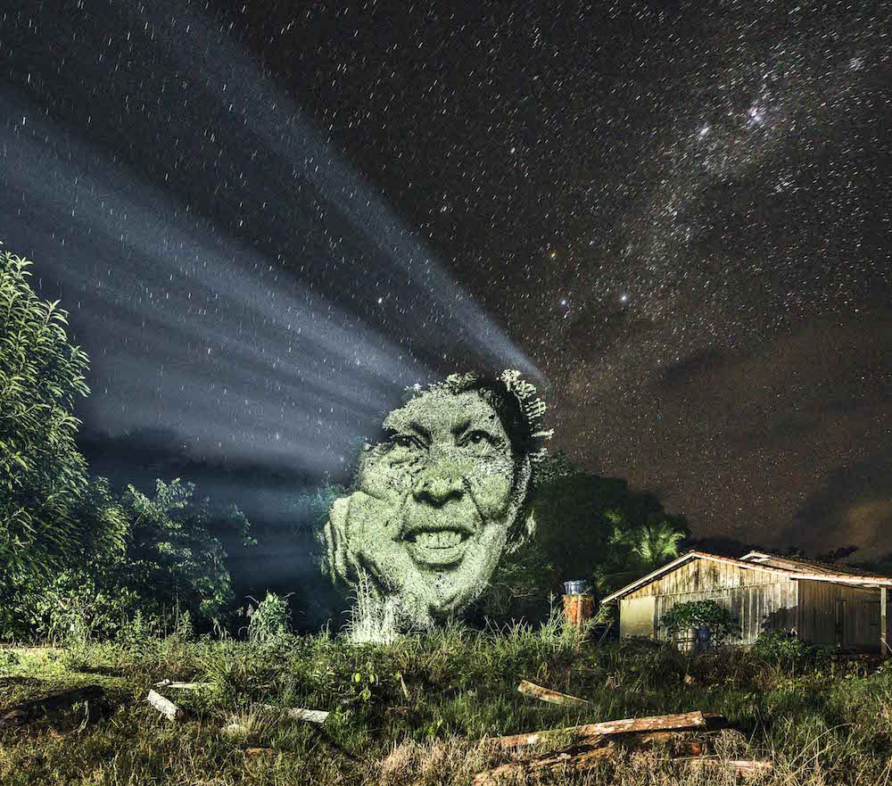 Джунгли Амазонки с человеческим лицом (7 фото)