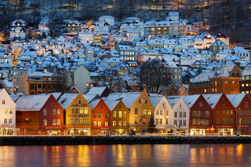 Достопримечательности Норвегии: Брюгген