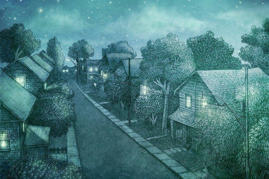 Иллюстрации Terry Fan