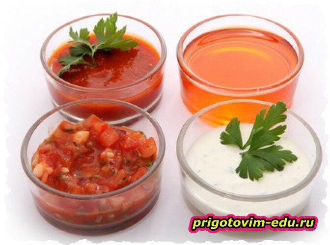 Три итальянских соуса — домашний рецепт