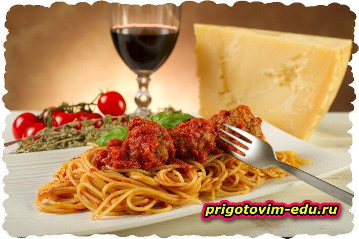 Основные виды итальянской пасты