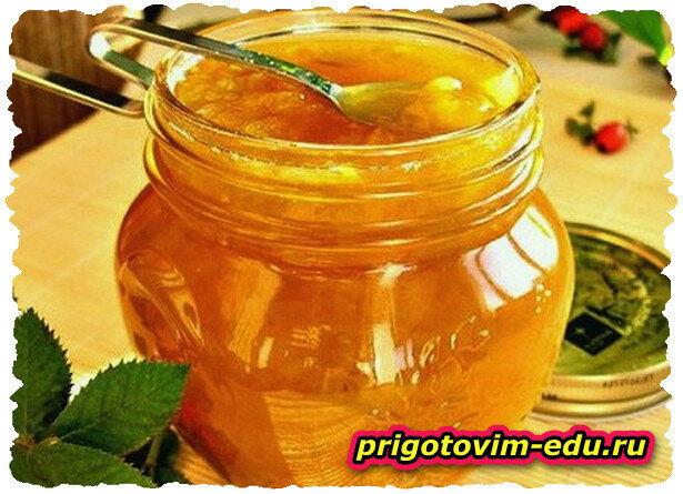 «Пятиминутка» из тыквы и тыквенных семечек на меду
