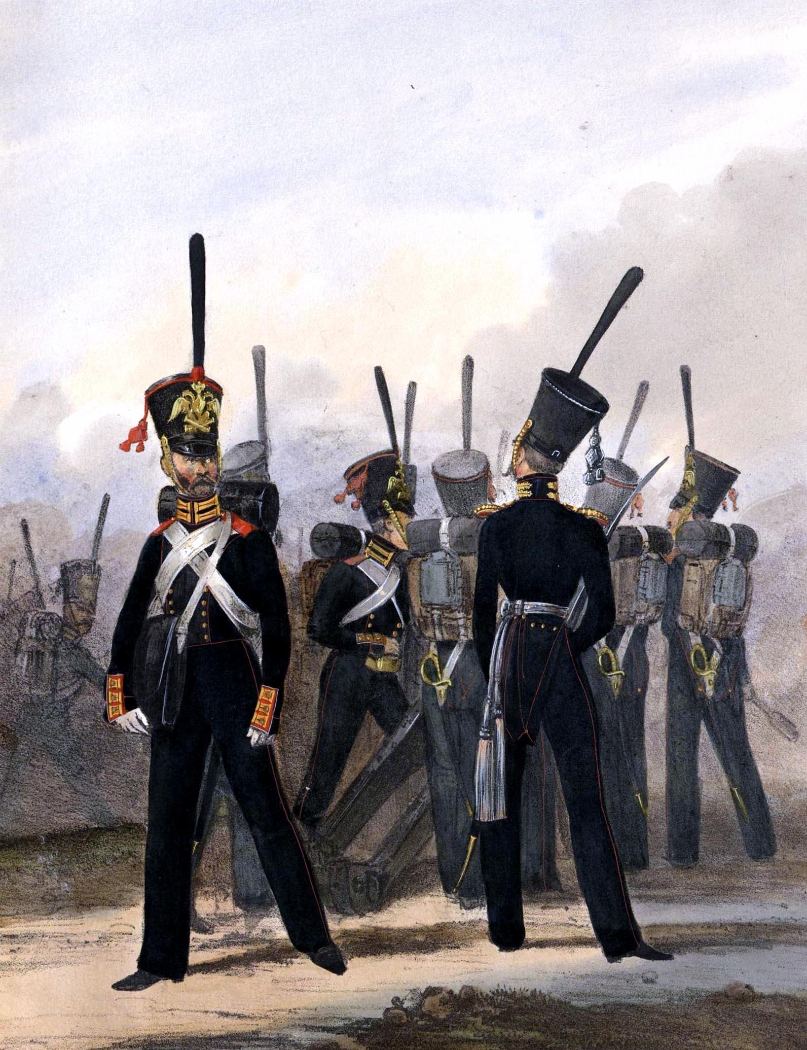 035. Kaiserthum Russland Garde-Artillerie zu Fuß / Российская империя