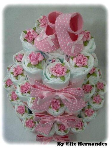 Декор из детской обуви