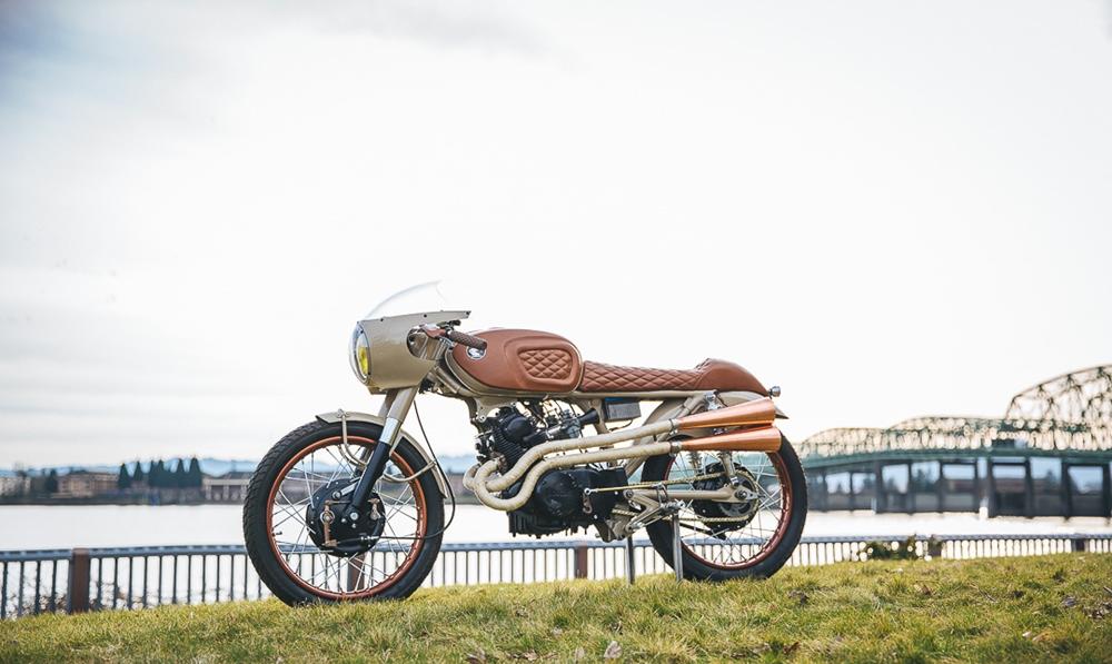 KickStart Garage: кастом Honda CB160 Penny Racer