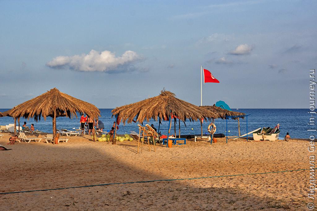 морские развлечения в Тунисе