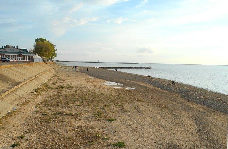 Вечер, пляж. в начале мая... DSCN5425.JPG