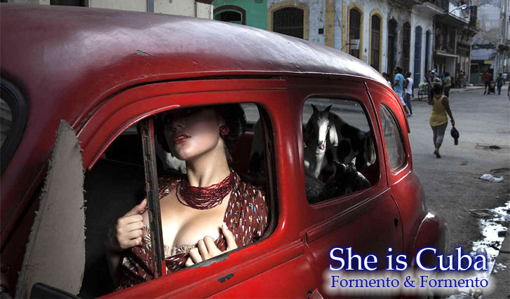 She is Cuba by Formento-Formento / Она - Куба