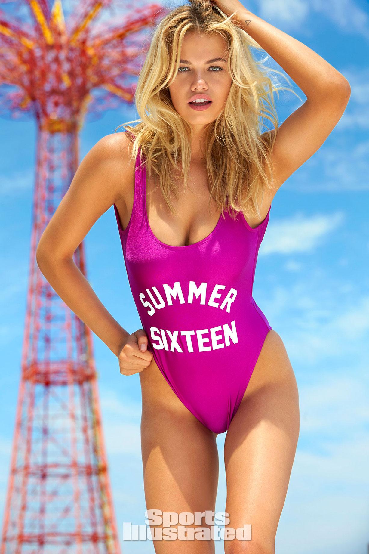 Hailey Clauson / Хейли Клоусон в купальниках Sports Illustrated 2016 - Summer of Swim Special