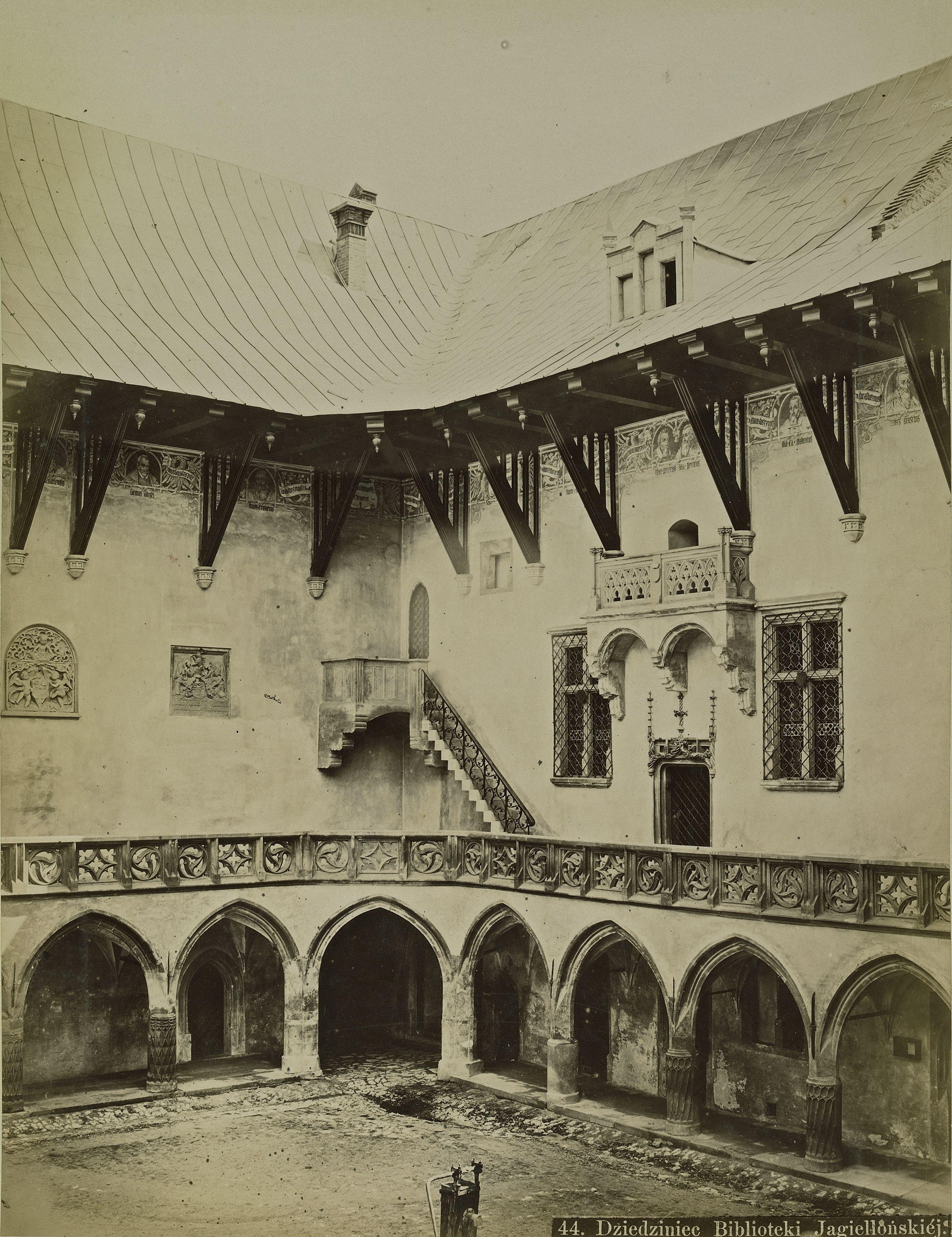 Австро-Венгрия. Краков. Библиотека Ягеллонского университета