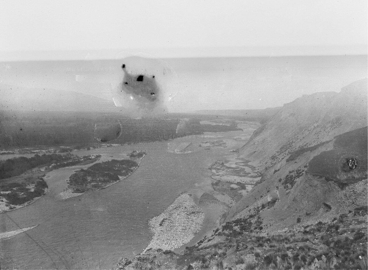Река Текес. Панорама
