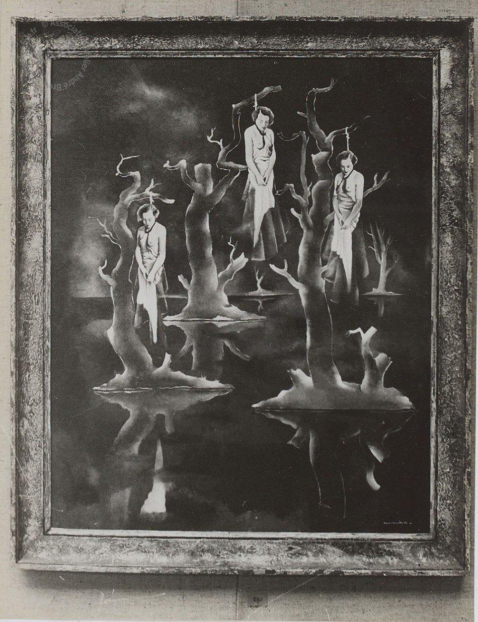 1931. Три повешенных