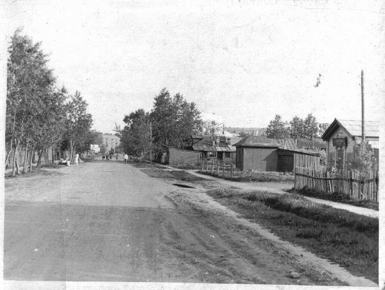 1955. Посёлок Перово поле, Перовский проезд (2-я Владимирская)