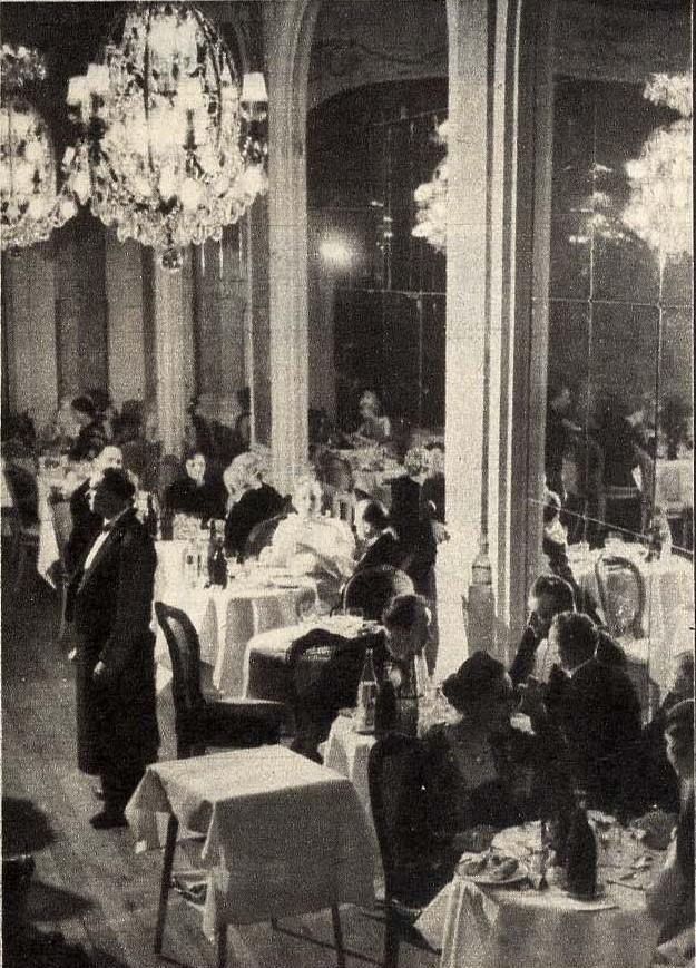 1938. Ресторан перед закрытием