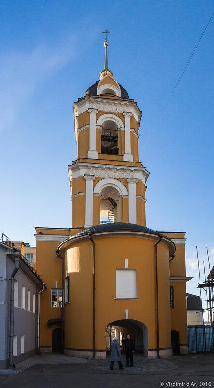 Колокольня Богородице-Рождественского монастыря
