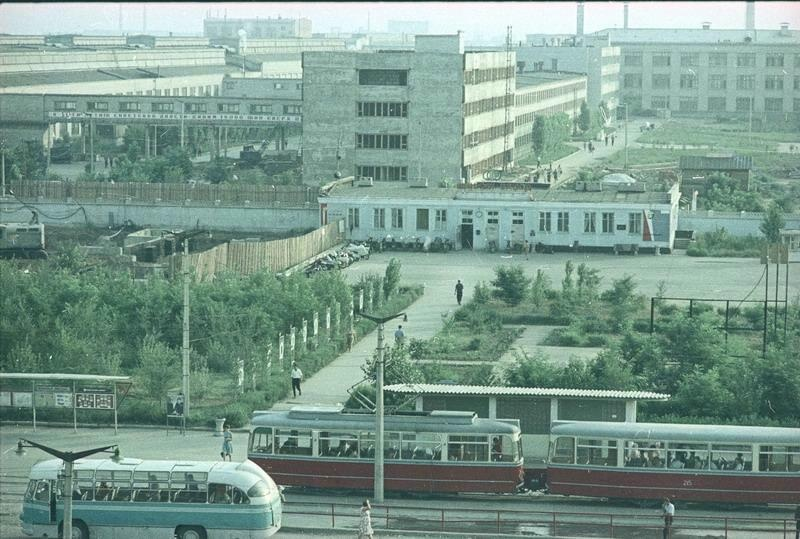 1966 г. Волжский, Волжский шинный завод. В. Тарасевич.jpg