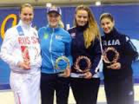 Украинские саблистки завоевали серебро на Олимпиаде в Рио