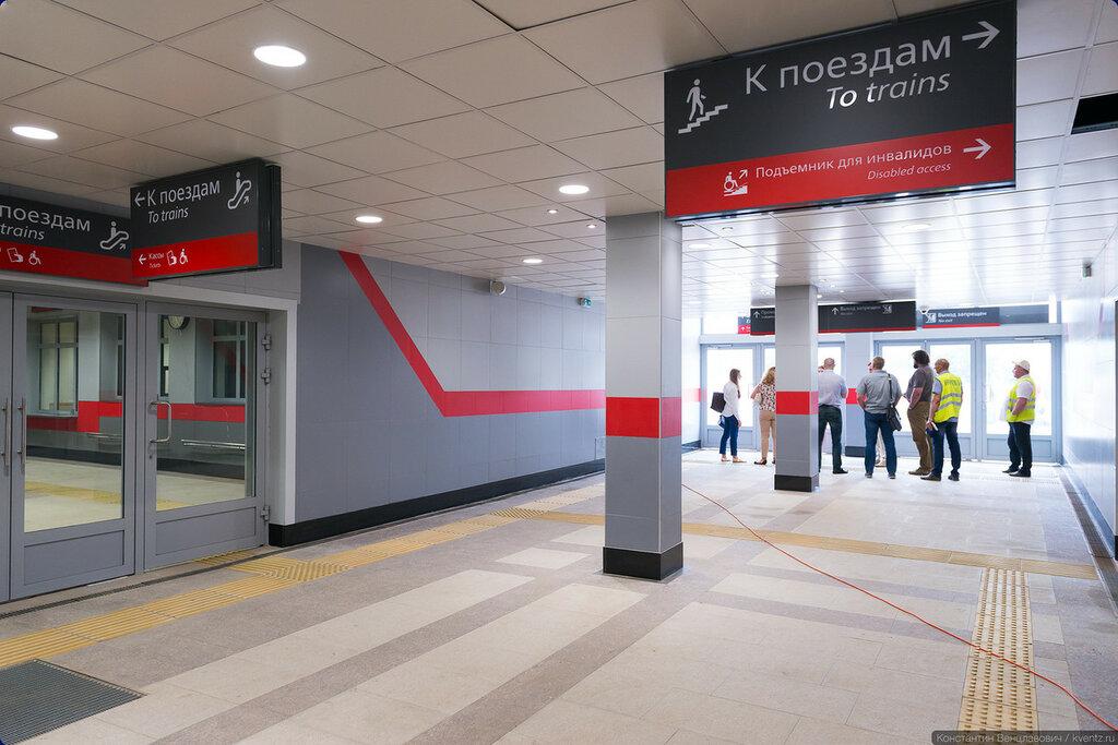 Вот такая станция «Новохохловская»