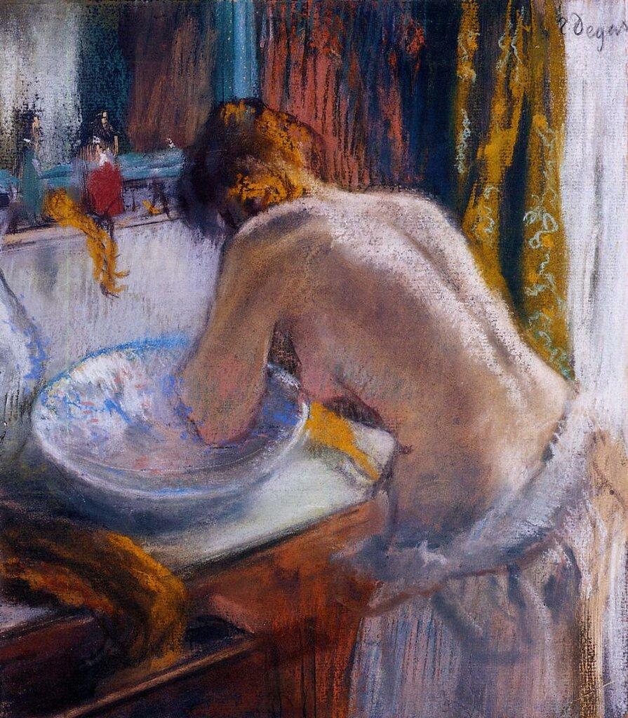 505_Утренний туалет (1884-1886) (частная коллекция).jpg