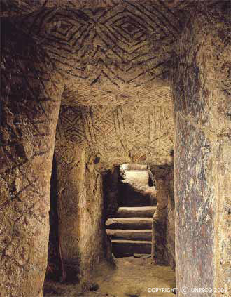 The ancient underground cave temples of the Incas