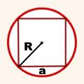 radius-opisannoj-okruzhnosti-pravilnogo-chetyrekhugolnika