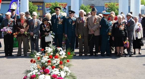9 мая 2010 год, Алчевск. Ветераны Второй Великой Отечественной Войны