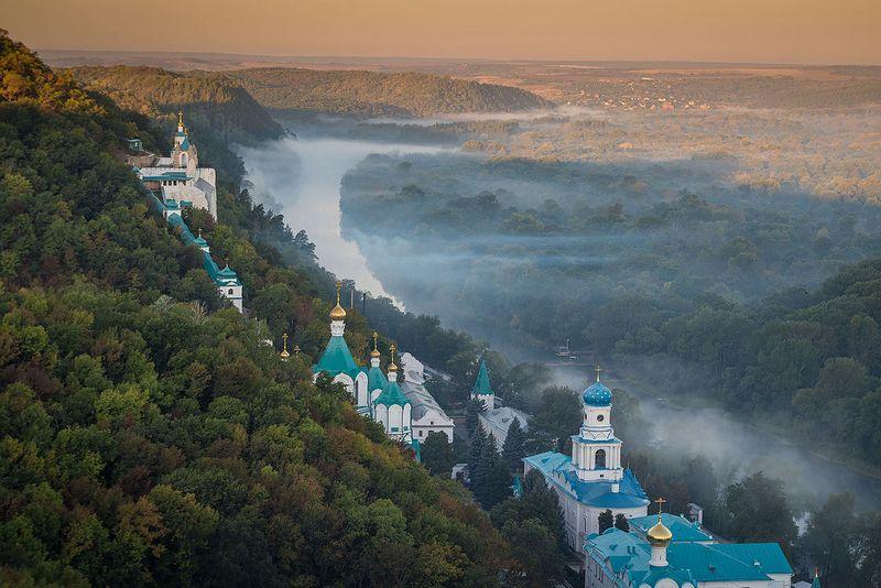 Свято-Успенская Святогорская Лавра. Донецкая область