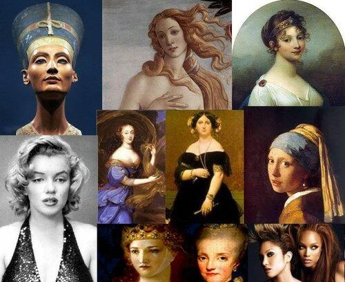 Как менялись стандарты женской красоты