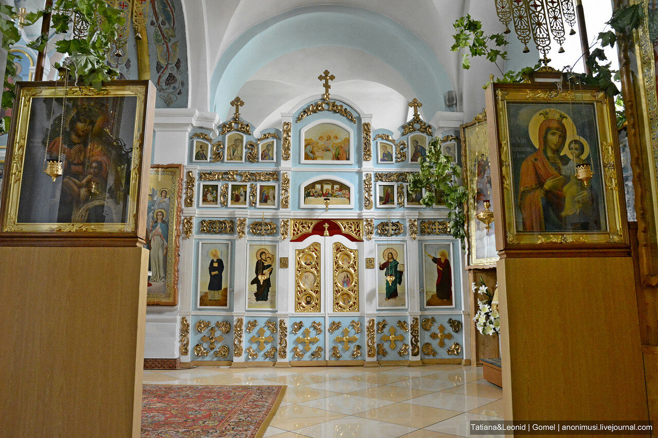Церковь Святого Архангела Михаила. Мозырь
