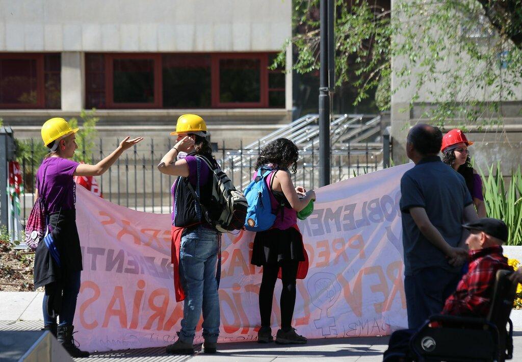 Гранада. Первомайская демонстрация