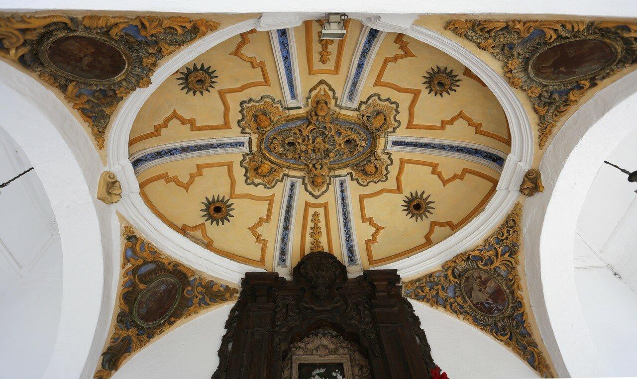 Ронда. Часовня Девы Долорес, часовня повешенных (Templete de la Virgen de los Dolores, Templete de Los Ahorcados)