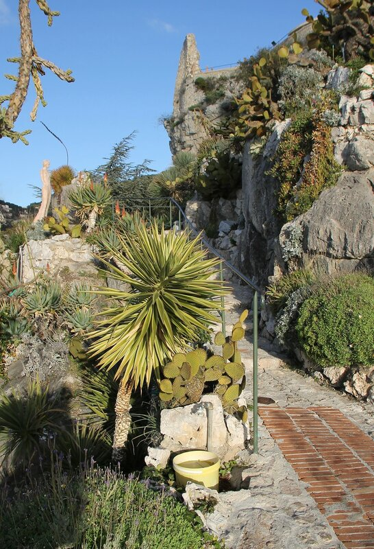 Эз. Ботанический сад (Jardin botanique d'Èze)