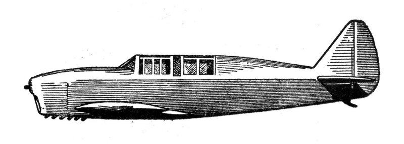 Силуэты итальянских самолетов (1939) 050