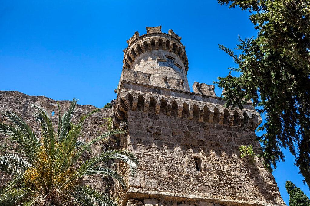 Башни старого Родоса...