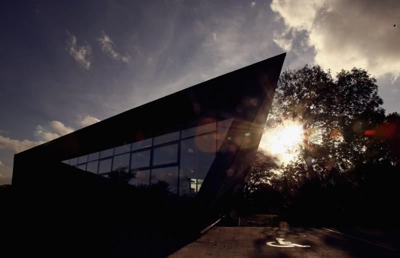 Новый Онкологический центр Мэгги больницы Виктории в Керколди, Шотландия.