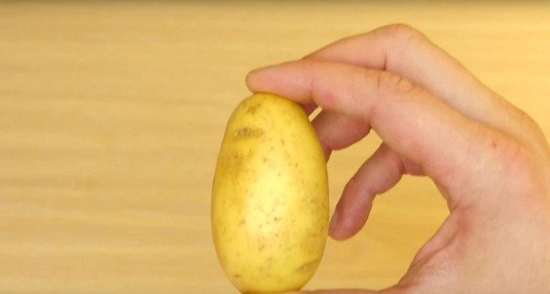 Оригинальный рецепт из картофеля, который готовится за пару минут (7 фото)